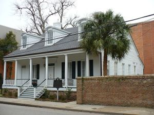 Mobile Alabama - Creole cottage  with neoclassical details